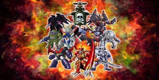 Super Robot Wars T   Cast List