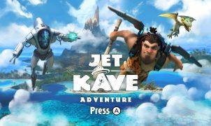 Jet Kave Adventure | Title screen